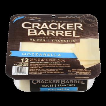 CRACKER BARREL MOZZA SLICES...