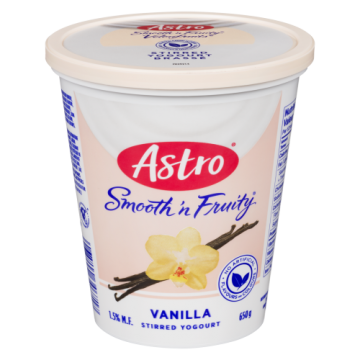 ASTRO FRUITY VANILLA YOGURT...