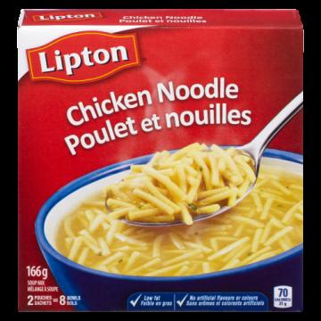 LIPTON CHICKEN NOODLE SOUP...