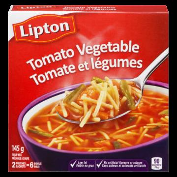 LIPTON TOMATO VEGETABLE SOUP
