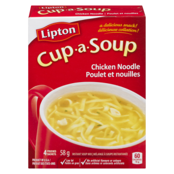 LIPTON CUP A SOUP CHICKEN...