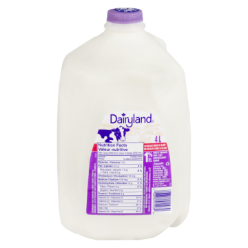 DAIRYLAND 1% MILK 4L - 4 Litre