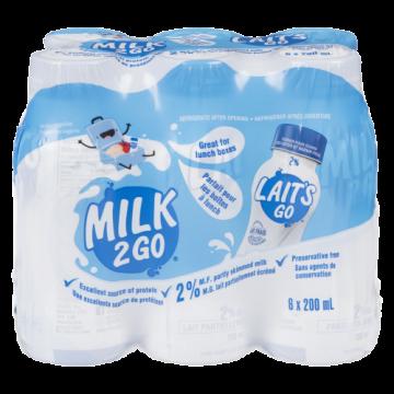 MILK 2 GO 2% - 6 Pack