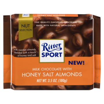 RITTER SPORT HONEY SALT...