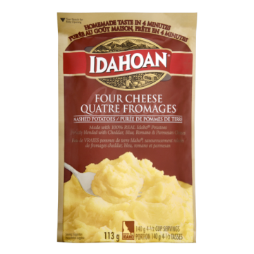 IDAHOAN FOUR CHEESE MASHED...