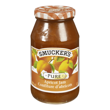 SMUCKERS PURE APRICOT JAM -...