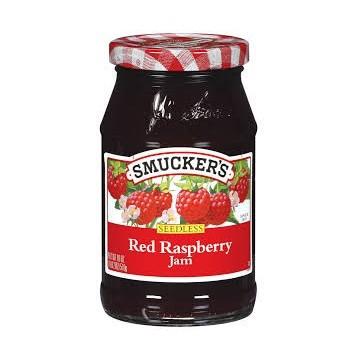 SMUCKERS RASPBERRY JAM -...
