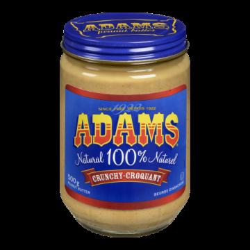 ADAMS CRUNCHY PEANUT BUTTER...