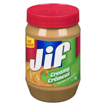 JIF CREAMY PEANUT BUTTER -...