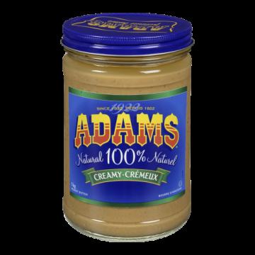 ADAMS NATURAL CREAMY PEANUT...