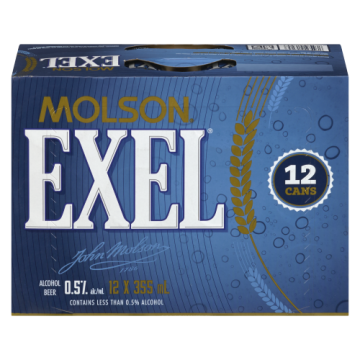 MOLSON EXEL .5 PC ALCOHOL...