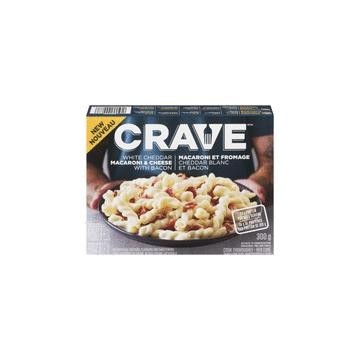 CRAVE WHITE CHEDDAR MAC &...