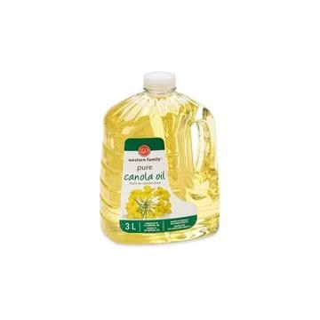 WF CANOLA OIL - 3 Litre