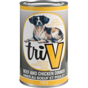 TRI-V DOG FOOD BEEF &...