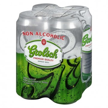 GROLSCH NON ALCOHOLIC BEER...