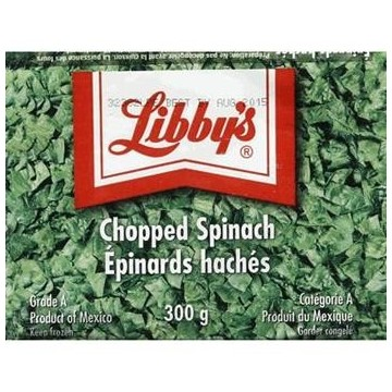 LIBBYS CHOPPED SPINACH -...