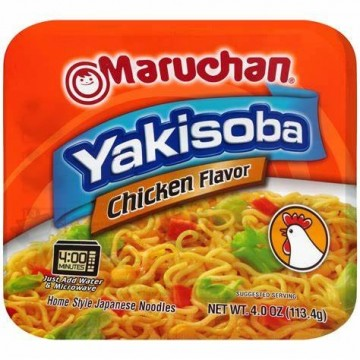 MARUCHAN YAKISOBA CHICKEN -...